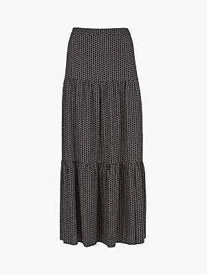 893a89a792 Mint Velvet Nola Print Boho Maxi Skirt, Multi