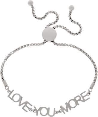 Jennifer Zeuner Jewelry Jz By JZ by Sterling or 18K Plated Love You More Bracelet