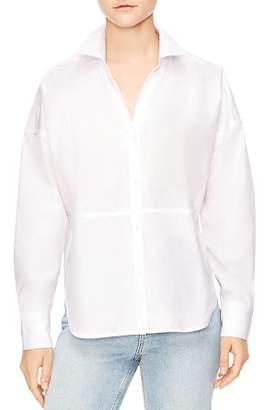 Sandro Grazia Button-Down Shirt