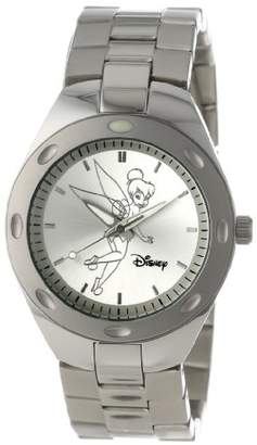 EWatchFactory Disney Men's W000485 Tinker Bell Stainless Steel Bracelet Watch