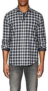 Hartford Men's Plaid Cotton Madras Shirt