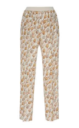 Agnona Printed Trousers