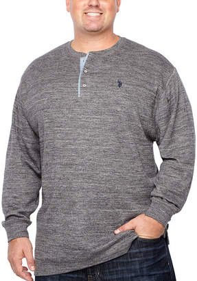 U.S. Polo Assn. Long Sleeve Thermal Top Big and Tall