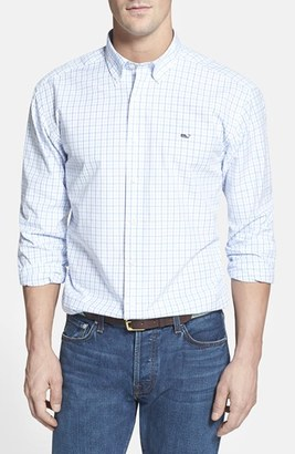 Men's Vineyard Vines 'Whale' Classic Fit Tattersall Check Sport Shirt $98.50 thestylecure.com