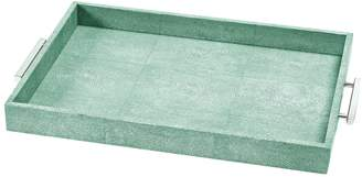 Regina-Andrew Design Regina Andrew Design Shagreen Rectangle Tray
