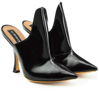 Y/Project Leather Mules