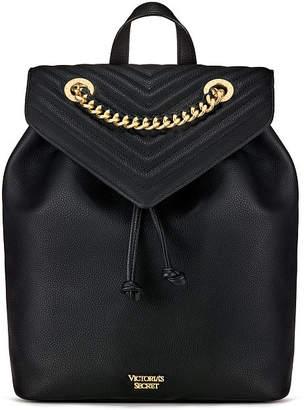 Victoria's Secret Victorias Secret Pebbled V-Quilt Angel Backpack