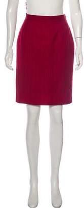 Saint Laurent Pencil Knee-Length Skirt