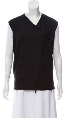 Zero Maria Cornejo Textured Zippered Vest