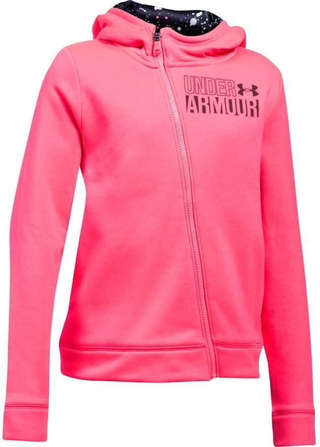 Under Armour Girls 7-16 Under Armour Asymmetrical Fleece Full-Zip Hoodie