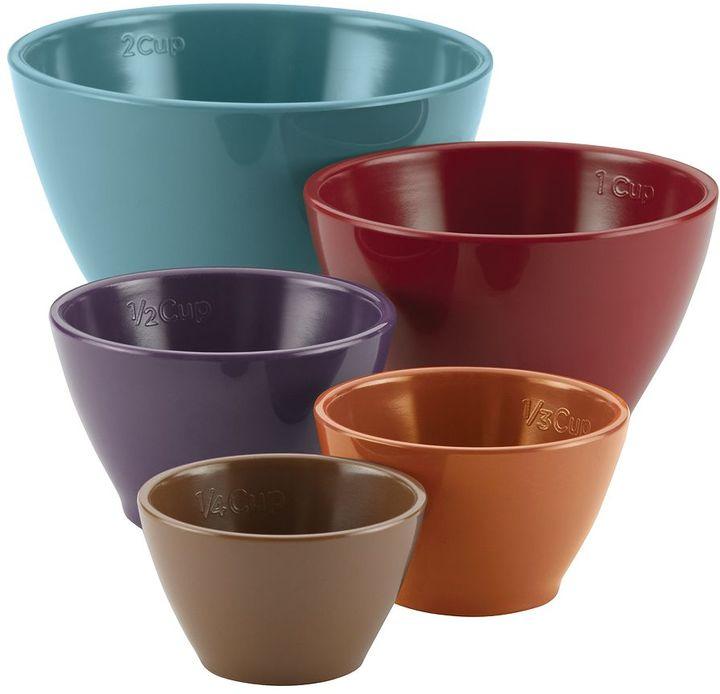 Rachael Ray Cucina 5-pc. Melamine Nesting Measuring Cup Set