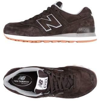 at yoox.com New Balance 574 PIGSKIN Low-tops \u0026 sneakers