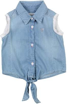 GUESS Denim shirts - Item 42684716NH