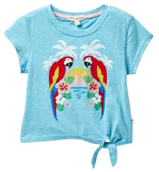 Appaman Phing Side Tie Parrot Bay Tee (Toddler, Little Girls, & Big Girls)