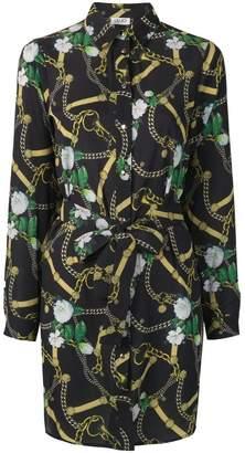 Liu Jo Belt & Chain print dress