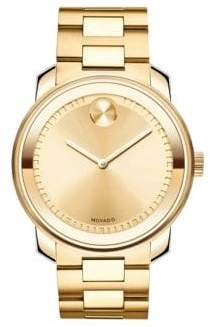 Movado Men's Bold Stainless Steel Watch - Gold