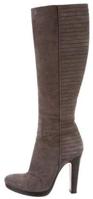 Rocco P. Knee-High Textured Boots