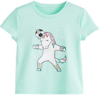 Under Armour Girls' Pre-School UA Unicorn Header Short Sleeve
