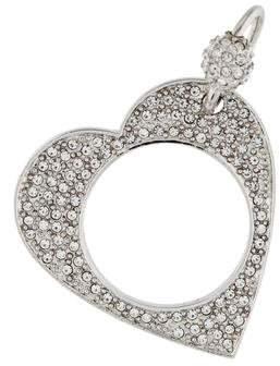 Christian Dior Crystal Heart Charm