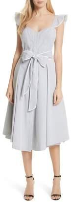 Milly Corset Ruffle Dress