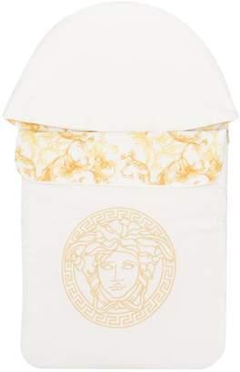 Versace Medusa logo sleeping bag