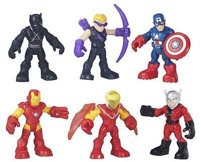 Marvel Playskool Heroes Super Hero Adventures Captain America Figure Pack