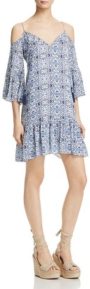 Cooper & Ella Mirella Cold Shoulder Dress $198 thestylecure.com