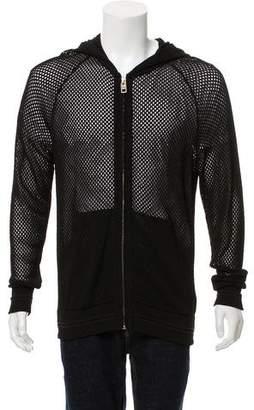 Givenchy Mesh Zip-Up Jacket w/ Tags