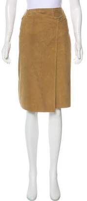 Chanel Suede Skirt