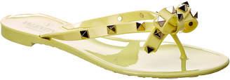 Valentino Rockstud Thong Sandal
