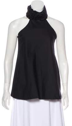 RED Valentino Sleeveless Halter Top