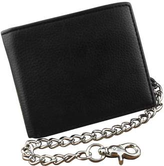 Hunter crazy Mens Boys Simple Leather Chain Wallet Biker EMO Gift L78