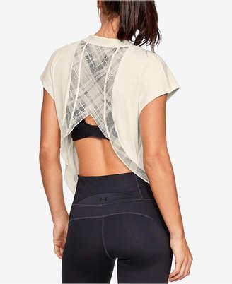 Under Armour Misty Copeland Lace-Back T-Shirt
