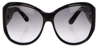 Saint Laurent Oversize Gradient Sunglasses