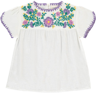 LOUIS LOUISE Noelia Embroidered Blouse $82.80 thestylecure.com