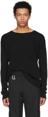 Maison Margiela Black Thermal Sweater