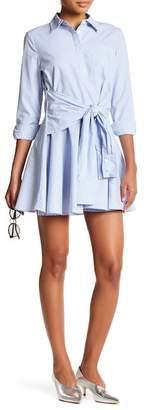 Romeo & Juliet Couture Sleeve Sash Shirt Dress