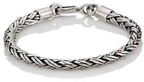 SPIGA Caputo & Co Men's Sterling Silver Chain Bracelet-Silver