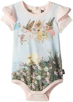 Rock Your Baby Baby Moonlight Fairies Short Sleeve Bodysuit Girl's Jumpsuit & Rompers One Piece