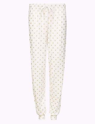 Marks and Spencer Glitter Star Print Pyjama Bottoms