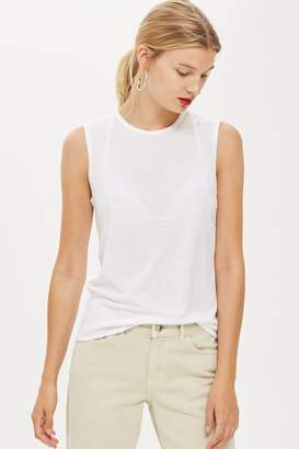Topshop Raw Seam Easy Tank by Boutique