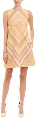 Valentino Wool & Silk-Blend A-Line Dress