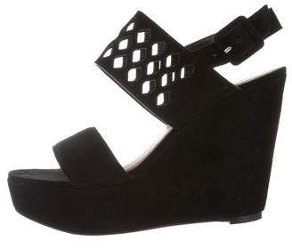 Robert Clergerie Clergerie Paris Brazzia Laser Cut Wedges
