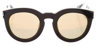 Saint Laurent Surf Reflective Sunglasses