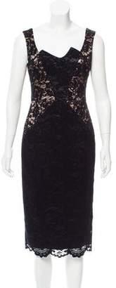Black Halo Velvet Lace Dress w/ Tags