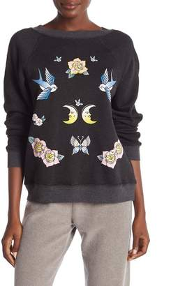 Wildfox Couture Fleece Lined Sweater