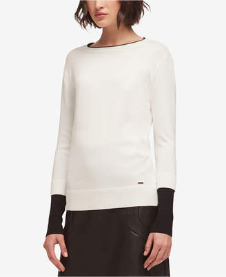 DKNY Colorblocked Sweater