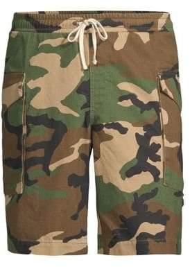 Ovadia & Sons Tribeca Cotton Camo Shorts