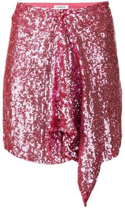 P.A.R.O.S.H. sequin mini party skirt