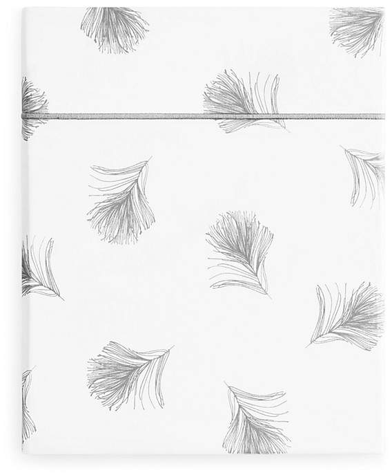 Anne de Solene Plume Flat Sheet, King